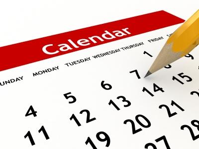 Holydays clipart calendar #3