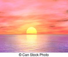 Dawn clipart Ocean Dawn Clipart 12 royalty