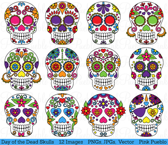 Day Of The Dead clipart Day Clipart Art Clipart Clip