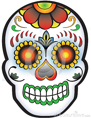 Ssckull clipart day the dead skull #13