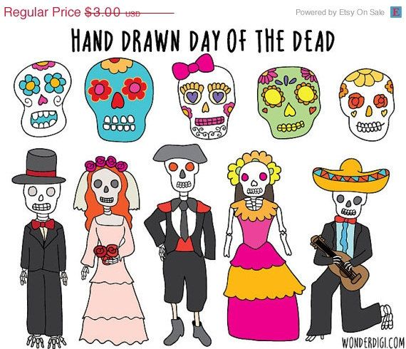 Day Of The Dead clipart Clipart 97 Pinterest clipart best