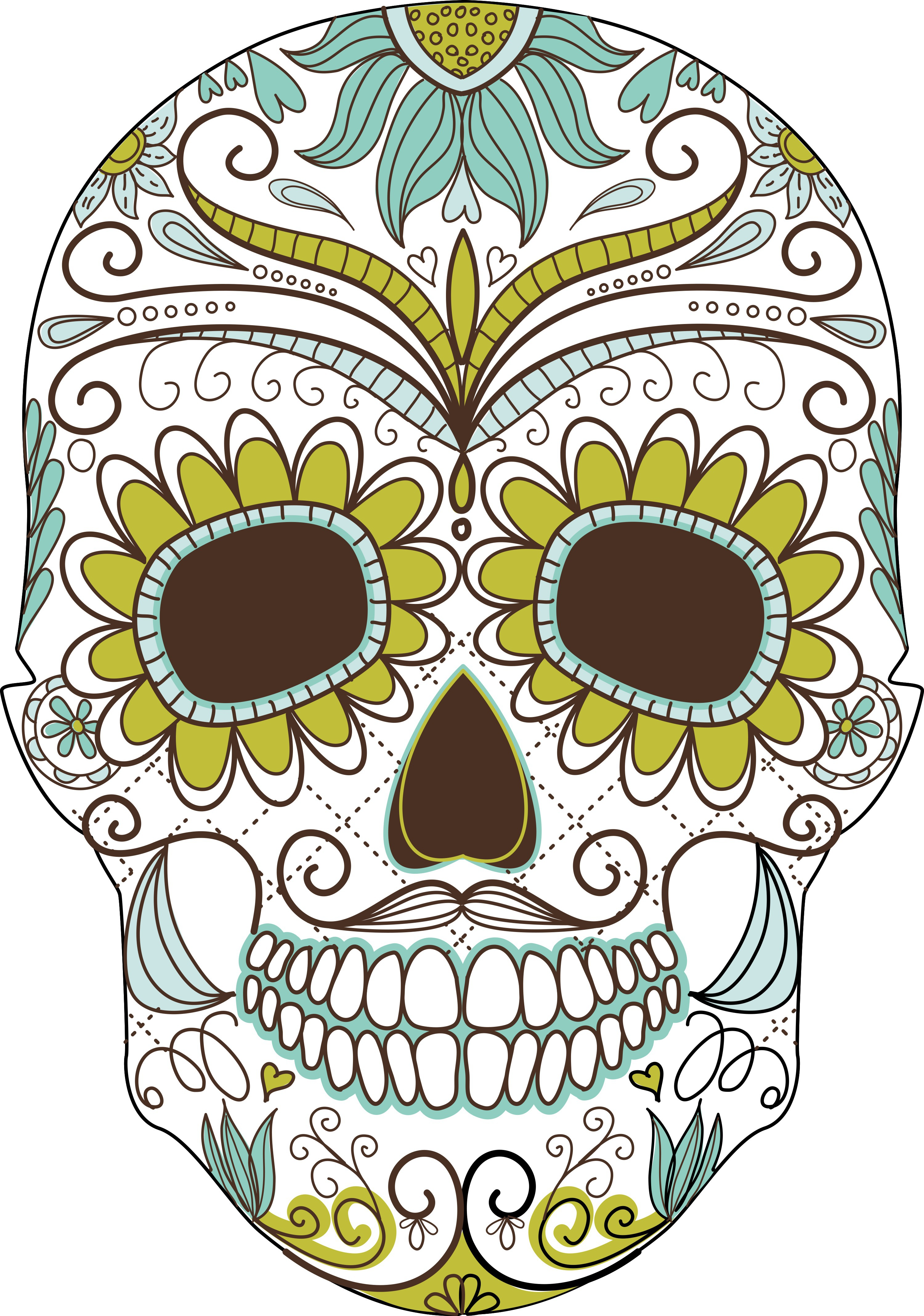 Day Of The Dead clipart #11