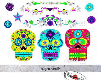 Day Of The Dead clipart cinco de mayo Muertos) Celebration: the (Dia Skulls: