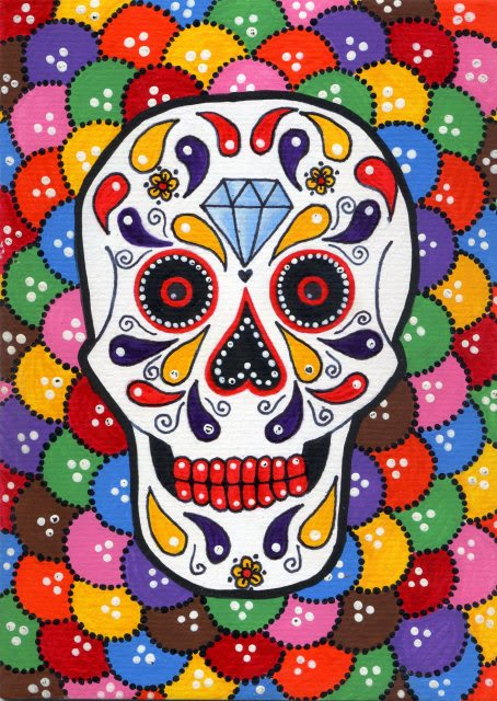 Day Of The Dead clipart feliz The of  Day animado