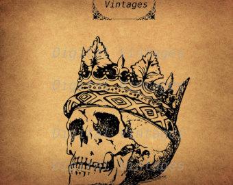 Day Of The Dead clipart hamlet skull Clip Etsy Dead Hamlet Skull