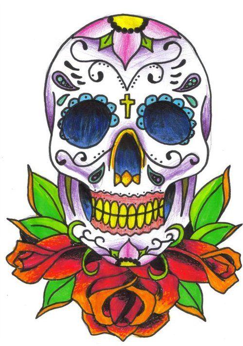 Day Of The Dead clipart hamlet skull Dead day Pinterest best Skulls