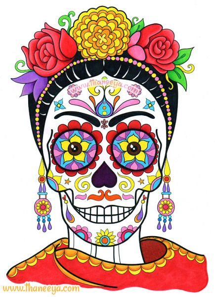 Day Of The Dead clipart hamlet skull Thaneeya Book the on Delights