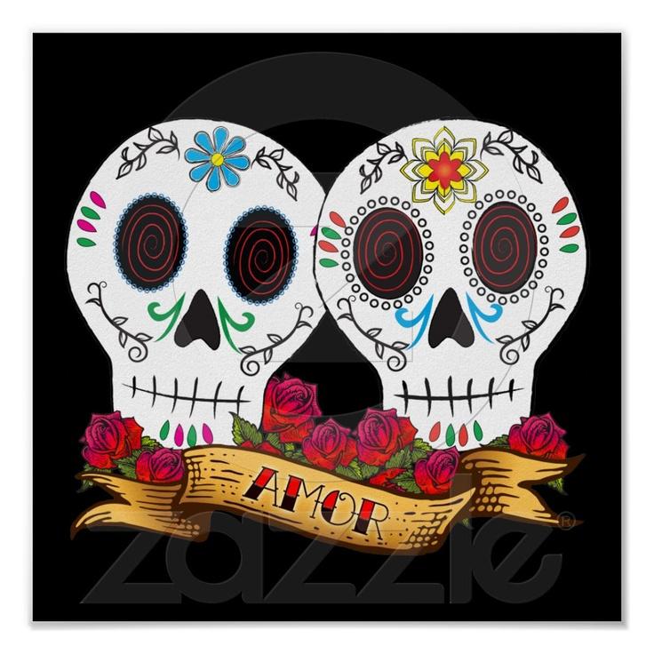 Day Of The Dead clipart hamlet skull Best Love Pinterest images Skulls