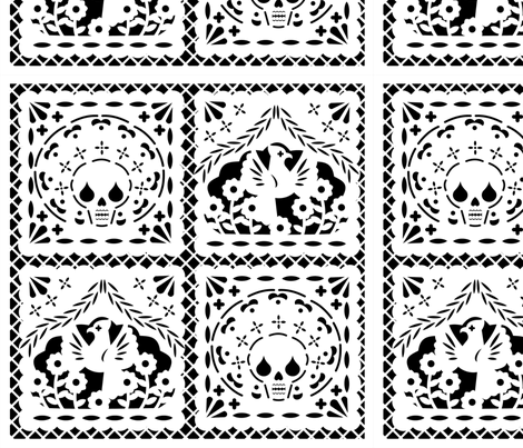 Day Of The Dead clipart papel picado Papel Picado  ground on