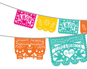 Day Of The Dead clipart papel picado Day Quotesfab co Clip Dead