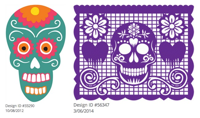 Day Of The Dead clipart papel picado Day Night of Silhouette Dead