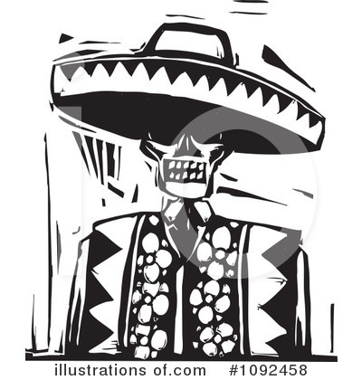 Day Of The Dead clipart sombrero The Clipart Day xunantunich Of