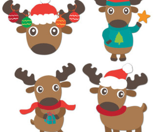 Dead clipart cougar Reindeer Clip Christmas download Day