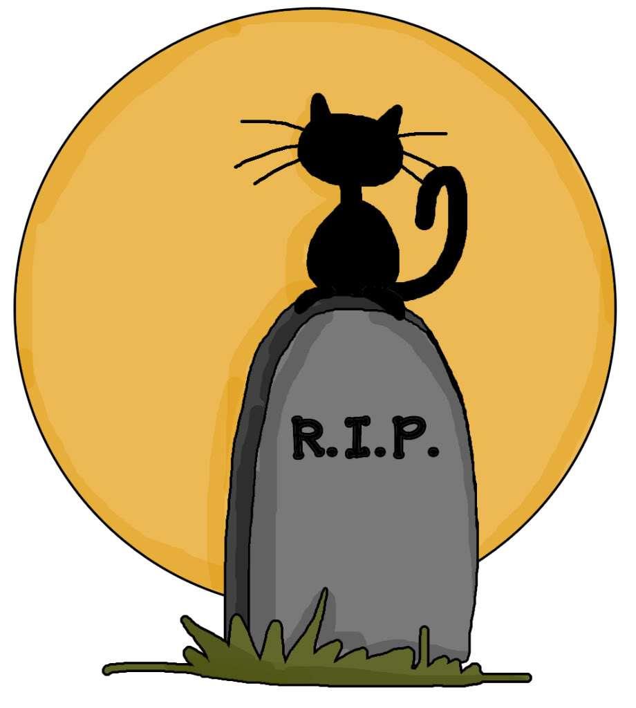 Black Cat clipart dead Voice Dead says: Lauren Near