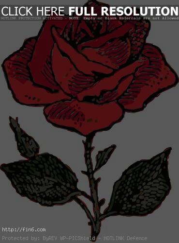 Dead clipart panda Thorns And rose  Art