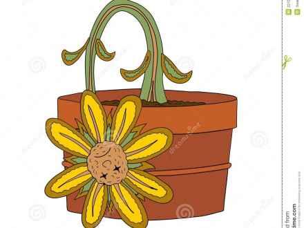 Plant clipart sad Clip Photos Blume Tote Plant