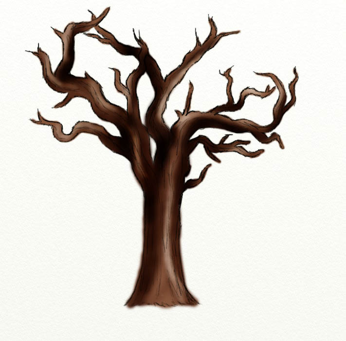 Horror clipart spooky tree Free Trees Download Art on