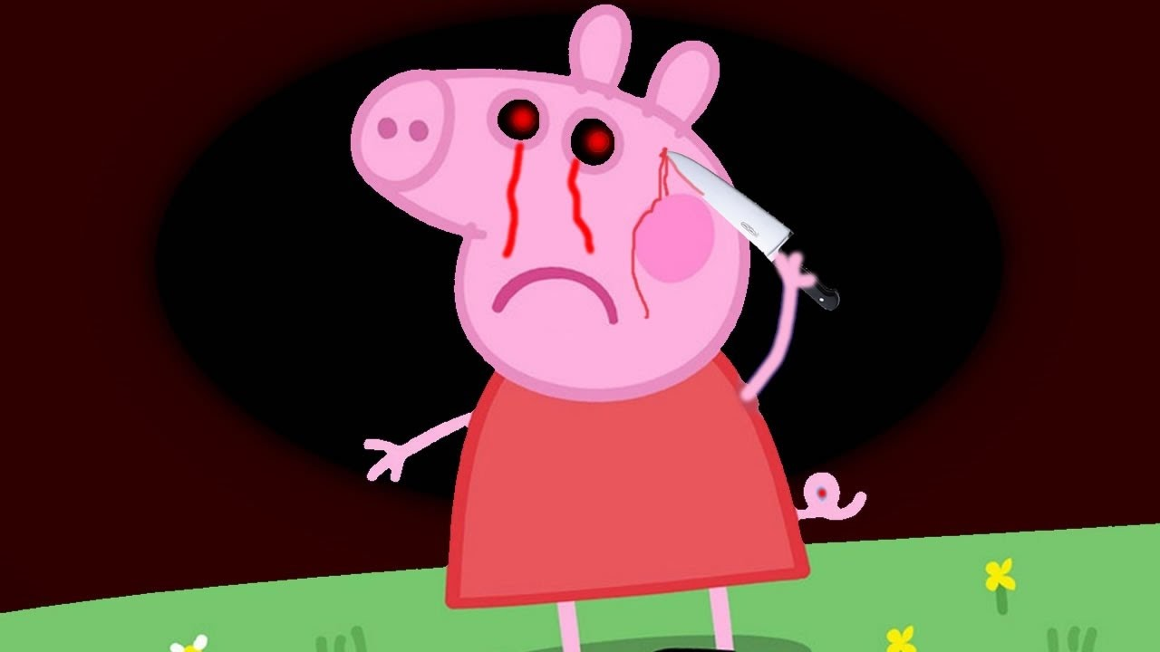 Deadth clipart animated Death YouTube  Pig's Peppa