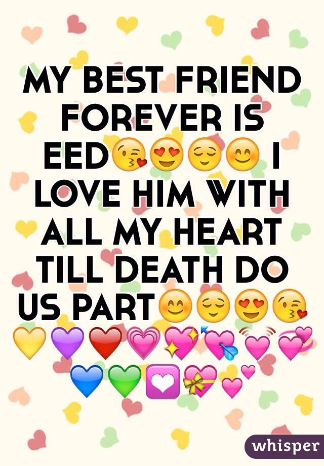 Deadth clipart close friend BEST FRIEND MY FOREVER IS