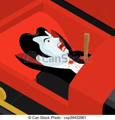Coffin clipart death Vampire in an coffin Count