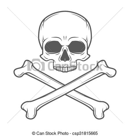 Deadth clipart crossbone Human Art design Jolly crossbones