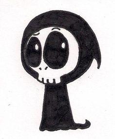 Drawn grim reaper halloween Halloween Clipart Sammku grim biscuits