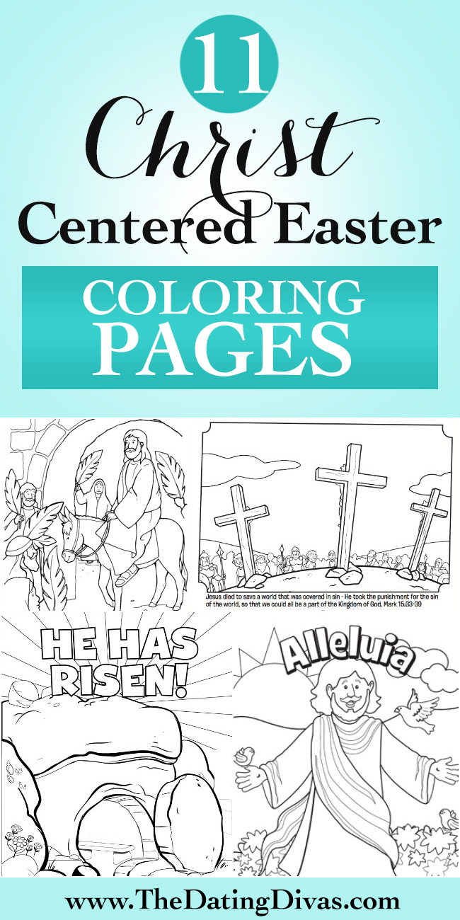 Deadth clipart easter Pages a for Coloring Christ