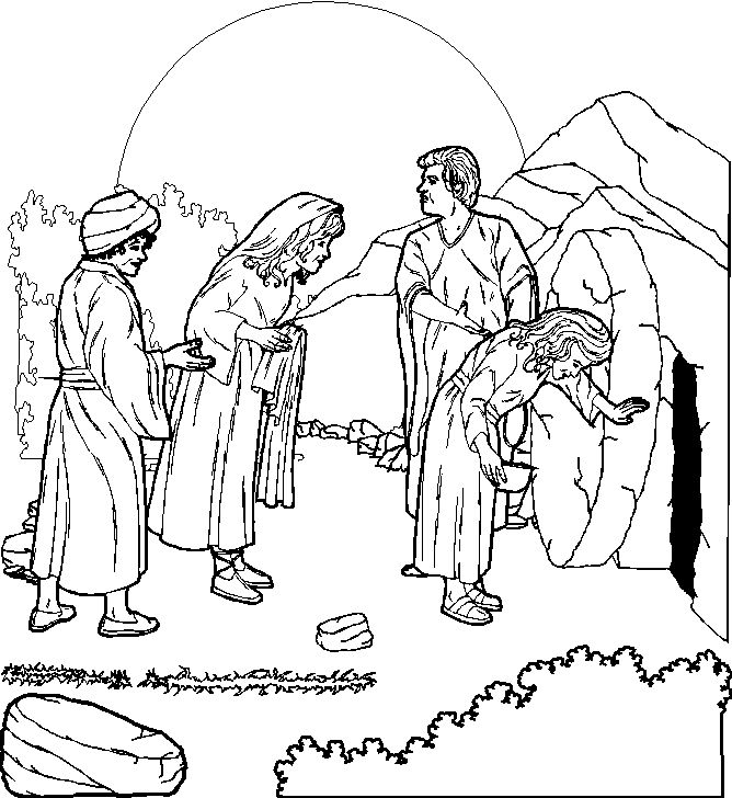 Deadth clipart easter He rose 35 and Easter