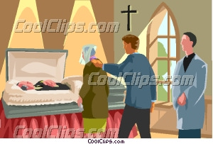Deadth clipart funeral Home Clip visitation Art funeral