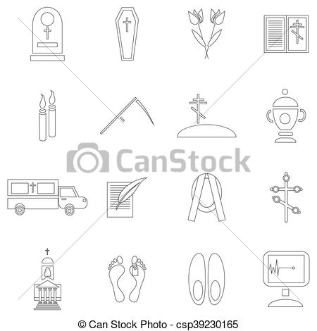 Deadth clipart funeral Clip  Vector funeral and