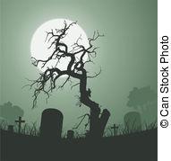 Deadth clipart graveyard Halloween Cemetery Cemetery clipart Clip