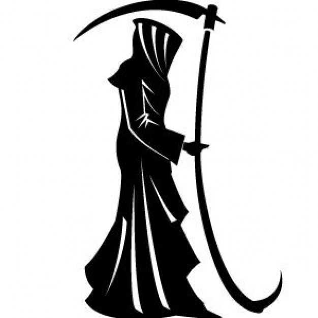 Reaper clipart coffin Arts Silhouette International for Arts