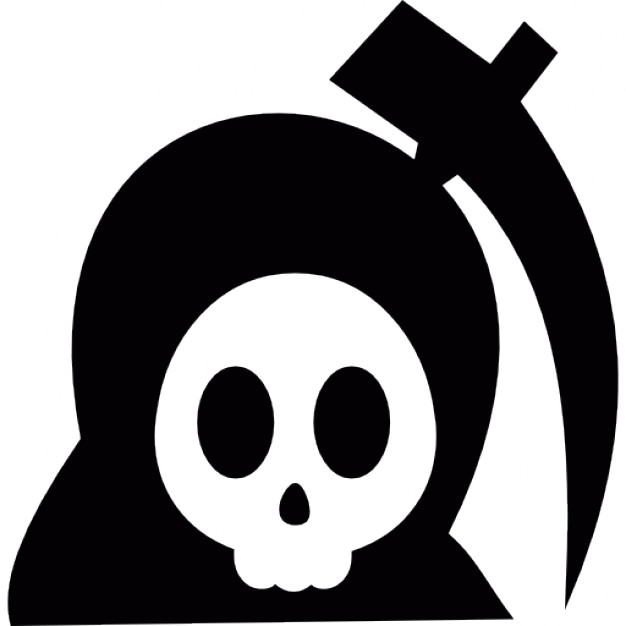 Deadth clipart halloween Icon Halloween Free Free Download
