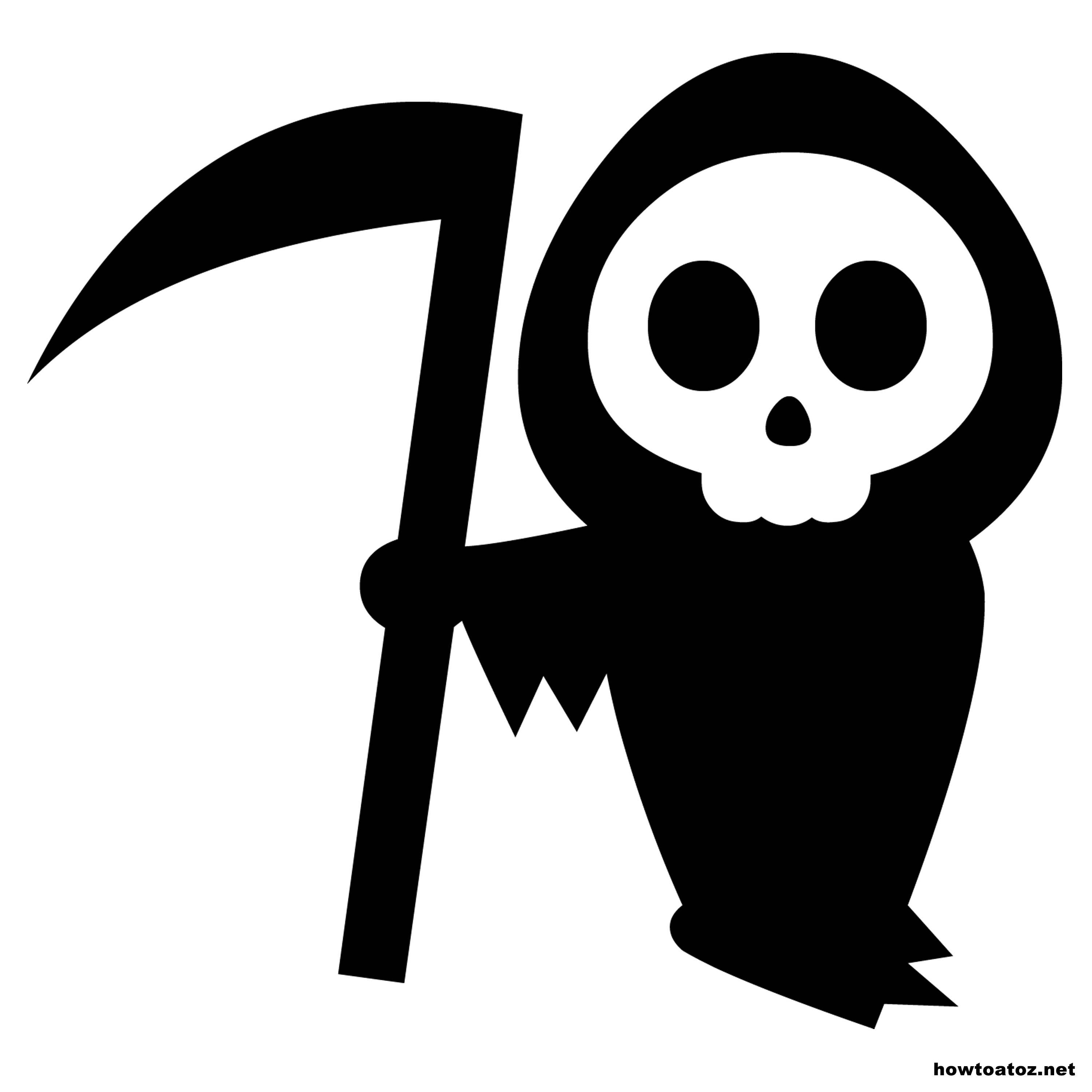 Reaper clipart coffin Decorations Bat Death Death halloween