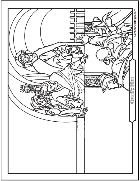 Deadth clipart lent Catholic Page For Lent Coloring