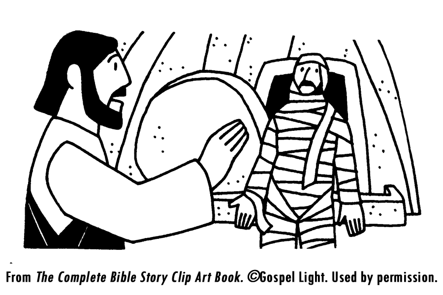 Deadth clipart new testament Pinterest multiple Jesus Lazarus