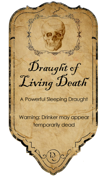 Deadth clipart potion Favourites Draught 5 label 5