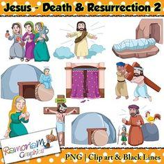 Deadth clipart religious Melonheadz: Centered Jesus Art Clip