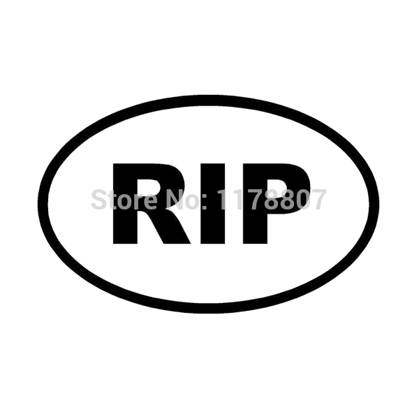 Deadth clipart rest in peace Group Decal RIP RIP Peace