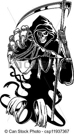 Deadth clipart scythe Clip with or scythe