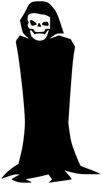 Reaper clipart black and white 2 Grim Reaper Art Download