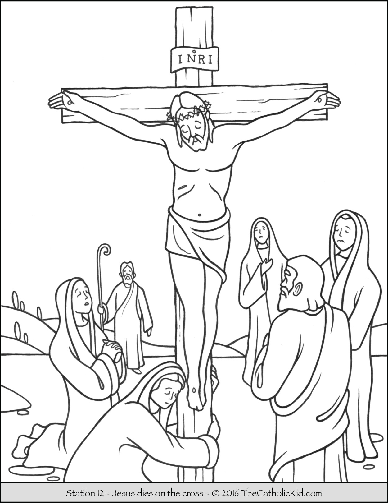 Deadth clipart station the cross On 4&5 of 2&3 cross