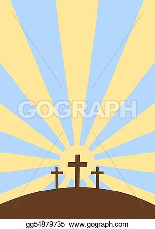 Deadth clipart three crosses Cross Drawing faith sky Drawing
