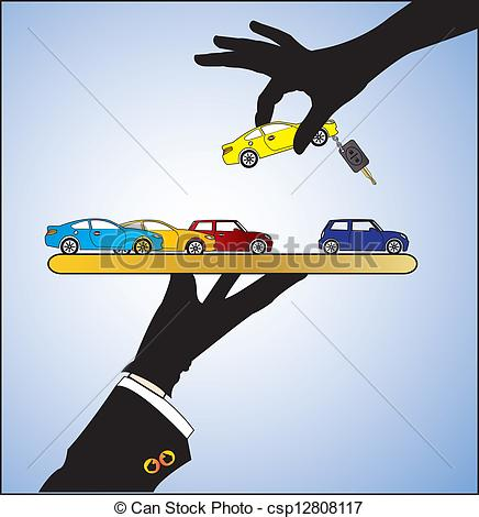 Dealership clipart car rental Sale Clip Car or Art