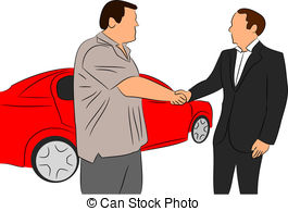 Dealership clipart car loan  4 Salesman EPS 605