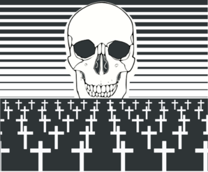 Horror clipart death rate #3