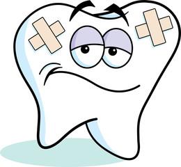 Teeth clipart hurt Broken Broken Tooth Clipart –
