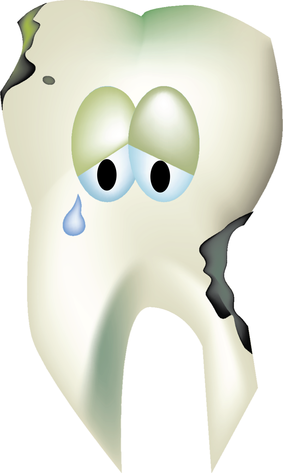 Decay clipart decayed tooth Clipart Tooth Decaying Sad Decaying