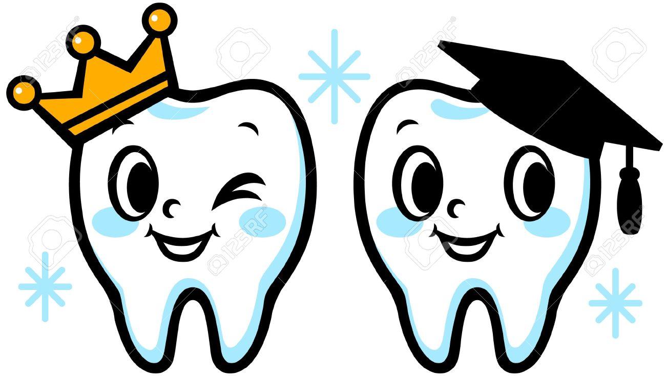 Teeth clipart vector Funny teeth teeth clipart Clipart