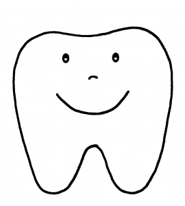 Decay clipart happy tooth { coloring happy free #azteach
